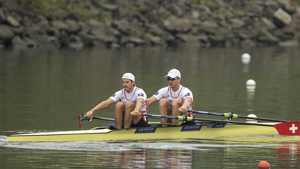 Gmelin sowie Röösli/Delarze verpassen WM-Medaille
