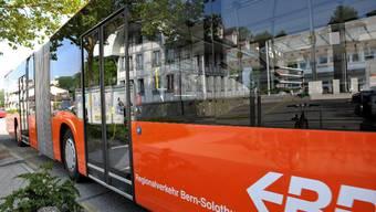 Die Busse verkehren im Fünfminuten-Takt.