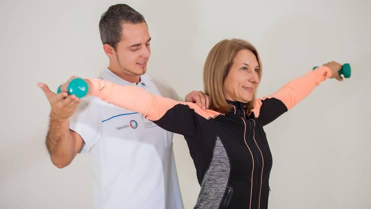 Kraft- und Ausdauertraining als Teil eines individuellen Trainingsprogramms