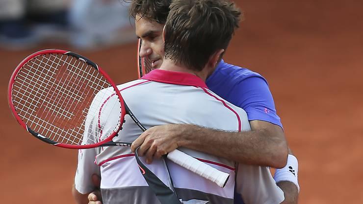 Roger Federers bisher letzter Auftritt am French Open: 2015 verlor er im Viertelfinal gegen den späteren Sieger Stan Wawrinka