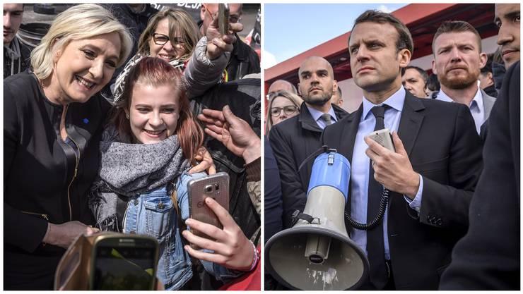 Es war sein Heimspiel, doch Emmanuel Macron verlor es kläglich gegen seine Kontrahentin Marine Le Pen.