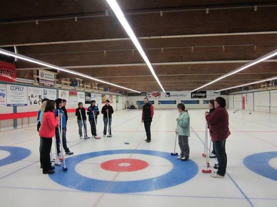Curlingschnupperkurs