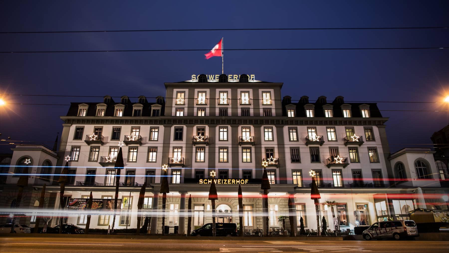 Impressionen von der Silvesterparty 2019/2020 «The Golden Twenties» im Hotel Schweizerhof Luzern.