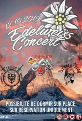 So sieht der Flyer des «Edelweiss Concert» aus.