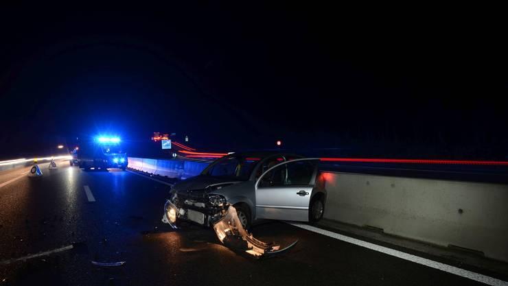 Der Unfall ereignete sich am Dienstagabend kurz nach 19.30 Uhr.
