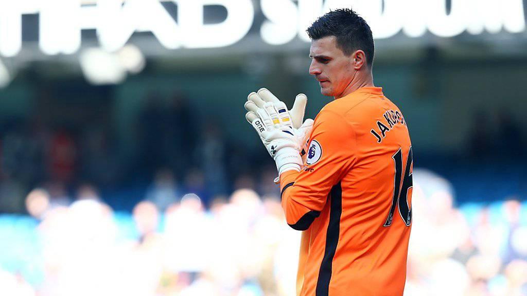 Eldin Jakupovic geht von Hull City zu Leicester