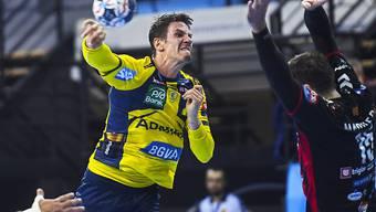 Andy Schmid steht mit den Rhein-Neckar Löwen dicht vor dem dritten Meistertitel in Folge