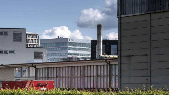 Die Universität Basel prüft einen Neubau auf dem Dreispitz in Sichtweite zur Fachhochschule Nordwestschweiz. Foto: Kenneth Nars