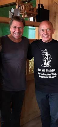 Toni Brunner und Ueli Maurer.