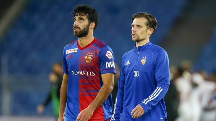 Enttäuschte Gesichter nach dem Ausscheiden in der Europa-League-Quali gegen Sofia.