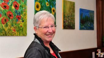 Claire Burgers Malereien werden im «Hope» ausgestellt.