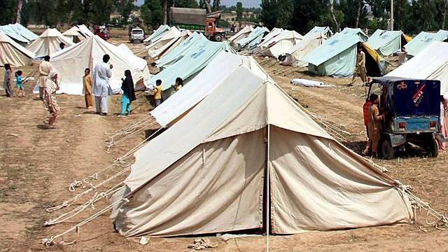 Flüchtlingslager in Pakistan (Archiv)