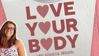«Love your Body – und schliesse Frieden mit dir selbst». Das ist Morena Diaz' erstes Buch. Es erscheint am 12. Februar im Frech Verlag.