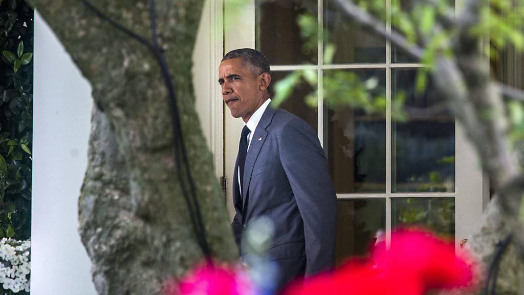 Obama verlässt das Weisse Haus für eine Reise zu einem Parteikongress in Florida: Am Freitag verkürzte der US-Präsident zudem die Haftstrafen von 42 Häftlingen.