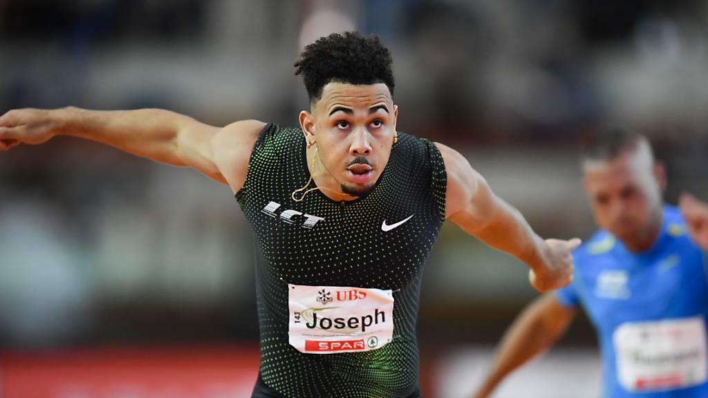 Jason Joseph verbessert eigenen Schweizer Rekord