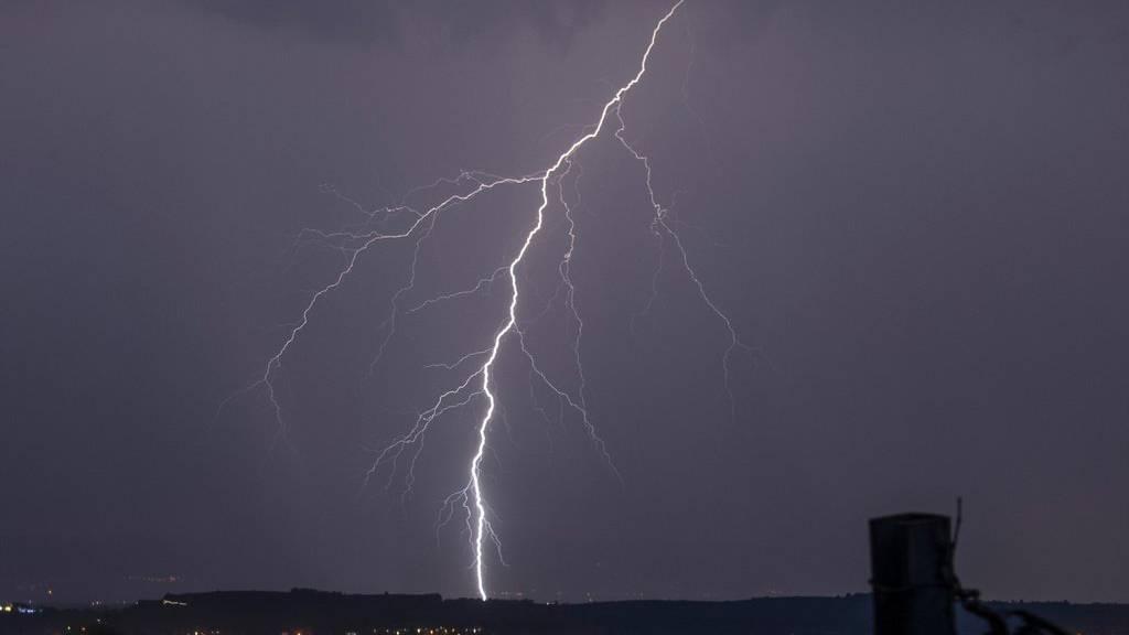 Im Thurgau gab es die meisten Blitze.