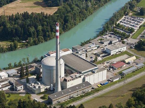 Das Atomkraftwerk Mühleberg ging 1971 in Betrieb.
