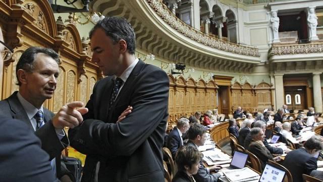 Blick in den Nationalratssaal (Archiv)