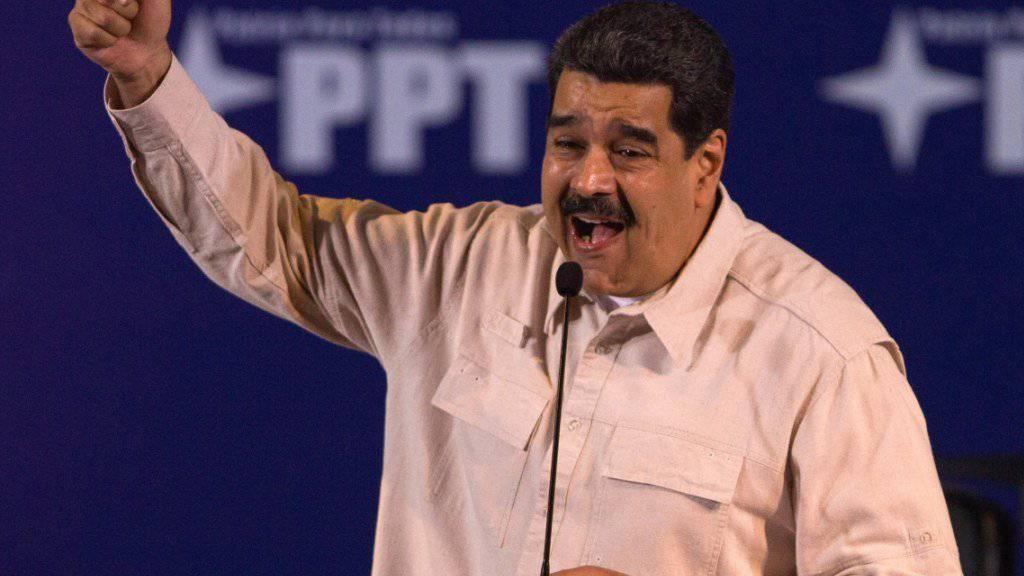 """Nach """"Petro"""" kommt auch noch """"Petro Gold"""": Venezuelas Staatschef Nicolas Maduro kündigte eine zweite staatliche Kryptowährung an."""