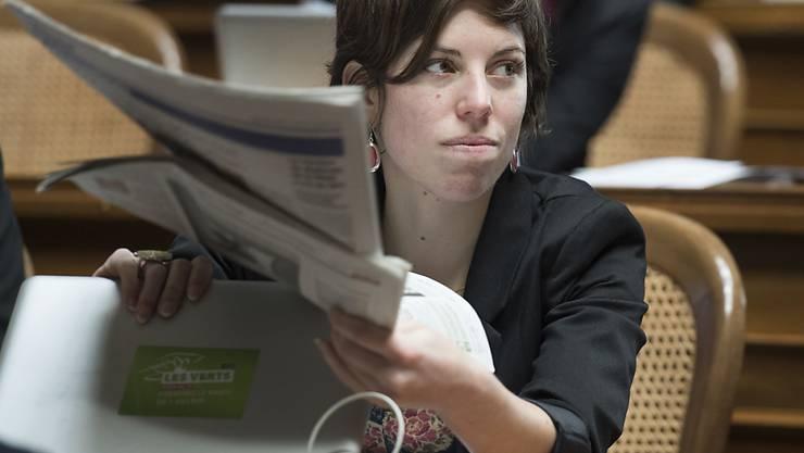 Grünen-Nationalrätin Lisa Mazzone aus Genf sitzt neu in der Führungsriege beim Zivildienstverband CIVIVA. (Archivbild)