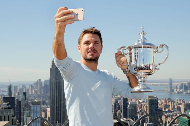 2016 triumphierte Wawrinka bei den US Open in New York.