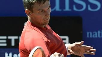 Henri Laaksonen steht in Gstaad in der 2. Runde