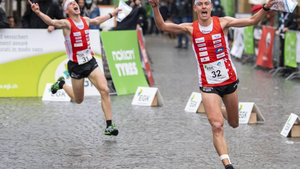 Gold und zweimal Silber für die Schweizer OL-Equipe