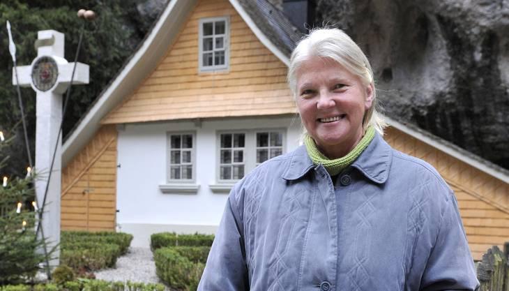Verena Dubacher war seit 2009 in der Einsiedelei.