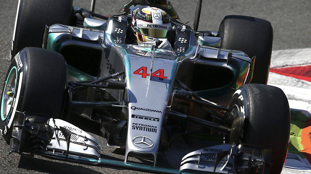 Lewis Hamilton war auch in Monza das Mass aller Dinge