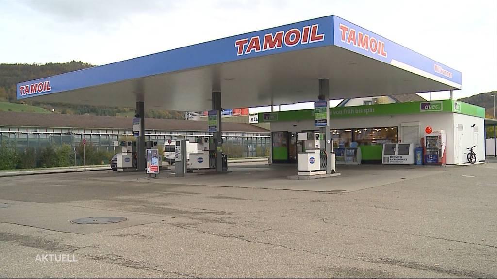 Tankstellen-Raub: An erstem Arbeitstag überfallen
