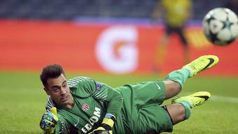 Diego Benaglio kann die Niederlage bei Saint-Etienne nicht verhindern