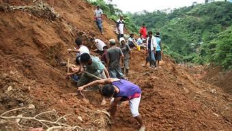 Erdrutsch auf den Philippinen (Archivbild)