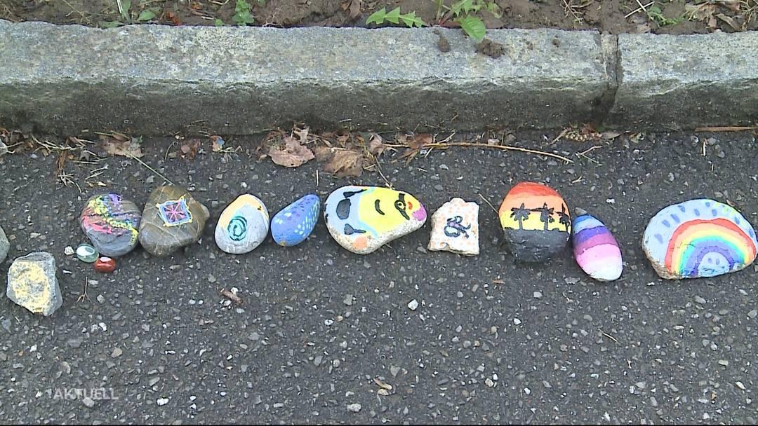 Kinder sorgen mit farbigem Herzensprojekt für Freude