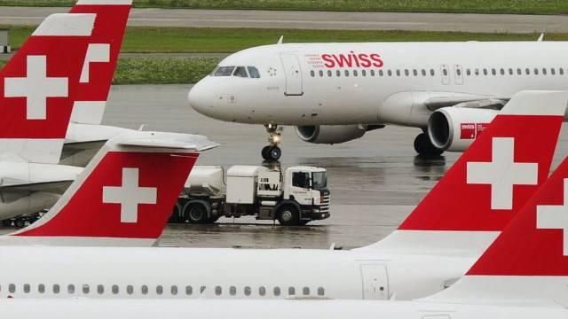Probleme bei der Flugzeugwartung beobachtet man bei der Swiss «mit wachsender Sorge».  (Symbolbild)