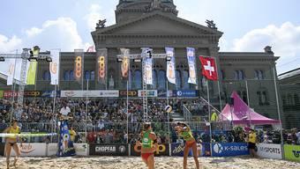 Der Bundesplatz bietet seit Jahren die Kulisse für das abschliessende Turnier der Schweizer Tour