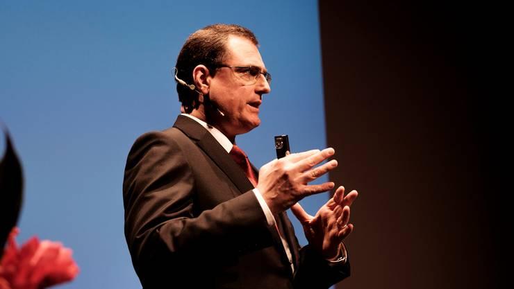 SNB-Chef Thomas Jordan erklärt seine Geldpolitik. Mario Heller