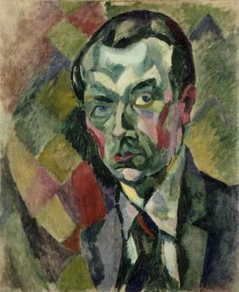 Im Selbstporträt von 1909 mischte der Anfänger Robert Delaunay alle angesagten Stile der Zeit.
