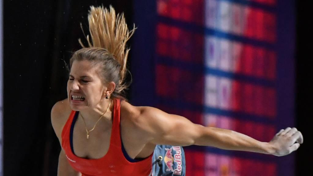 Schmerzhaftes Ende der EM für die Schweizerin Petra Klingler.