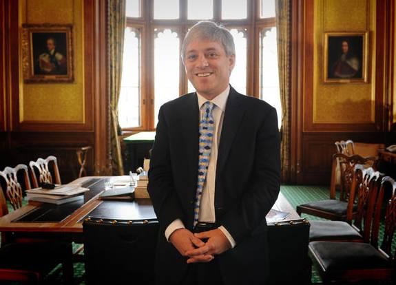 John Bercow nach seiner Wahl zum Speaker im Juni 2009.