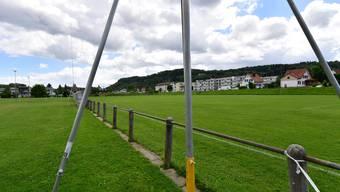 Bauprofile neue Beleuchtungsanlage Sportplatz Feld, Schönenwerd