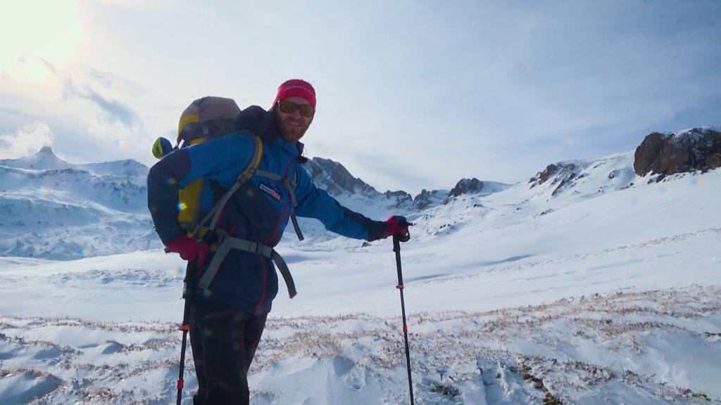 Winter extrem: Biwakieren in den Bergen