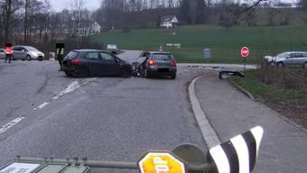 Verkehrsunfall in Giebenach: 3 Autos waren involviert