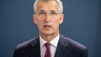 Nato-Generalsekretär Jens Stoltenberg. Foto: Michael Kappeler/dpa-pool/dpa