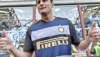 Sieg für Inter im Abschiedsspiel von Javier Zanetti