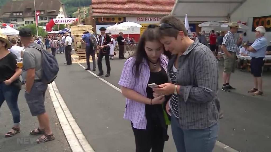 Patrouille Suisse flog Show über falschem Ort