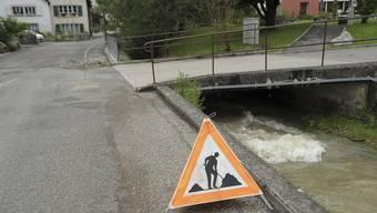 Hochwasserschäden im Oberbaselbiet