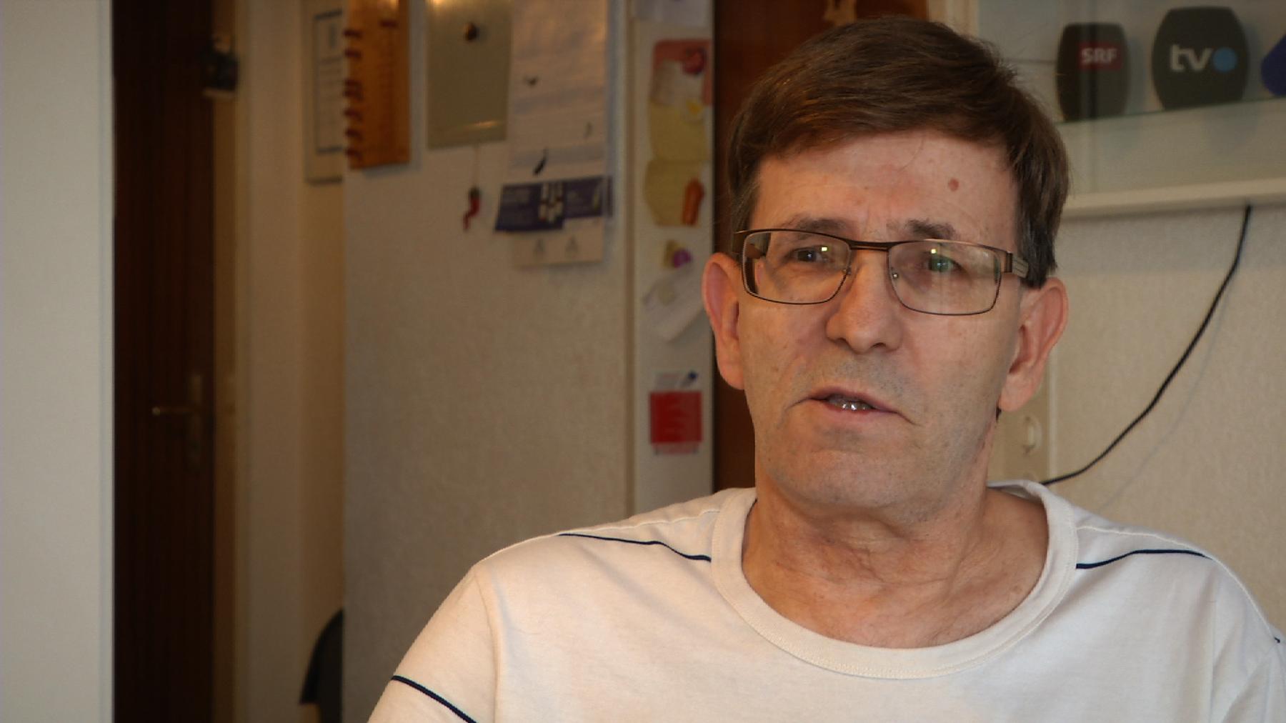 Walter Emmisberger leidet bis heute unter den Medikamentenversuchen. (TVO)