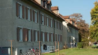 Kantonale Asylunterkunft am Rossweg in Rekingen: Seit Mitte August finden hier keine Kontrollgänge mehr statt. Alex Spichale