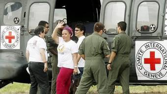 Auf dem Weg zur Geiselbefreiung in Kolumbien