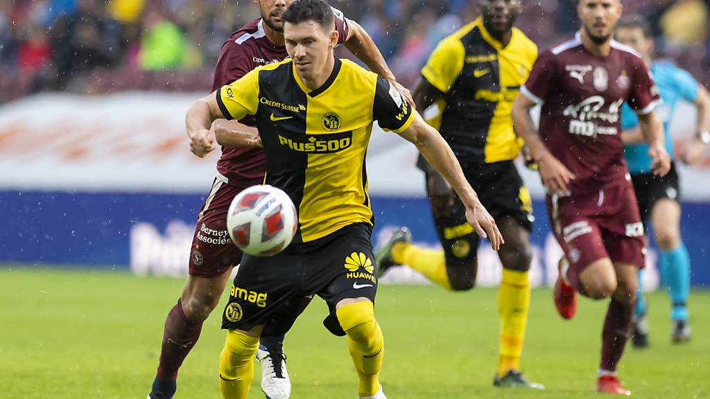 Christian Fassnacht war mit drei Toren die überragende Figur für die Young Boys